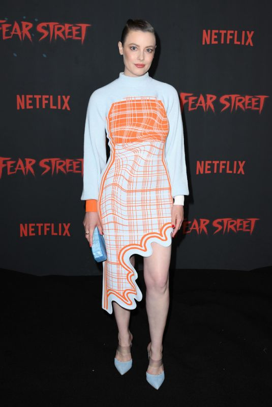 GILLIAN JACOBS at Fear Street Trilogy Premiere in Los Angeles 06/28/2021