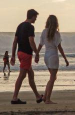 GISELE BUNDCHEN and Tom BradyOut at a Beach in Costa Rica 06/29/2021