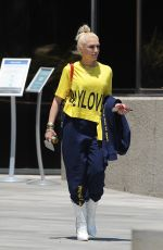 GWEN STEFANI Out and About in Los Angeles 06/15/2021