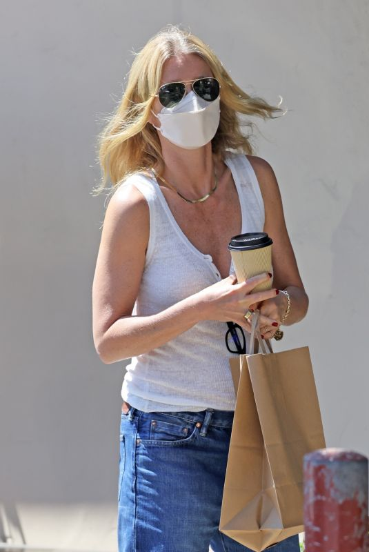 GWYNETH PALTROW Out for Coffee in Montecito 06/08/2021