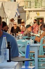 HAILEY and Justin BIEBER Out for Dinner in Greece 06/28/2021