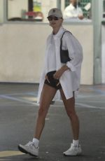 HAILEY BIEBER at a Medical Office in Beverly Hills 06/17/2021