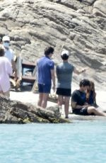 HALLE BAILEY as Ariel on the Set of The Little Mermaid in Sardinia 06/10/2021