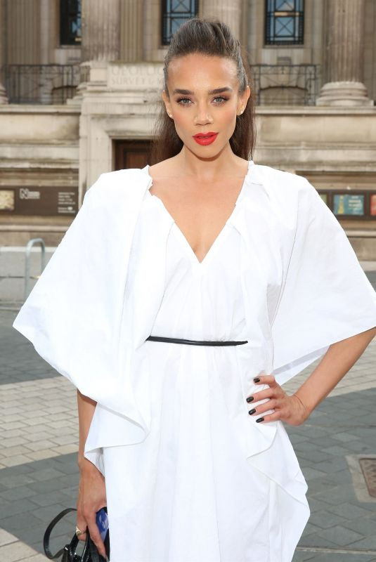 HANNAH JOHN-KAMEN at Alice: Curiouser and Curiouser Private View in London 06/23/2021