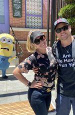 HEIDI MONTAG and Spencer Pratt at Universal Studios in Los Angeles 06/24/2021
