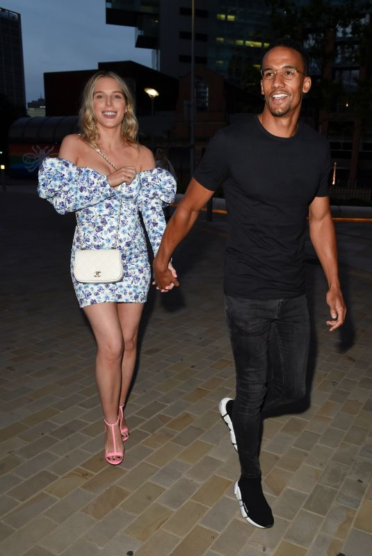 HELEN FLANAGAN Night Out in Manchester 06/19/2021