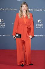 HELOISE MARTIN at 60th Monte Carlo TV Festival Closing Ceremony 06/22/2021
