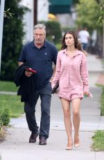 HILARIA and Alec BALDWIN Out in New York 06/18/2021