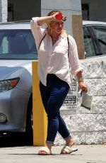 HILARY DUFF Out and About in Los Angeles 06/17/2021