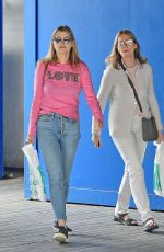 HOLLY VALANCE Out Shopping with Her Mother in London 06/25/2021