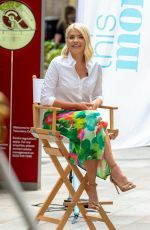 HOLLY WILLOGHBY on the Set of This Morning 06/15/2021