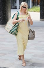 HOLLY WILLOUGHBY Out and About in London 06/16/2021