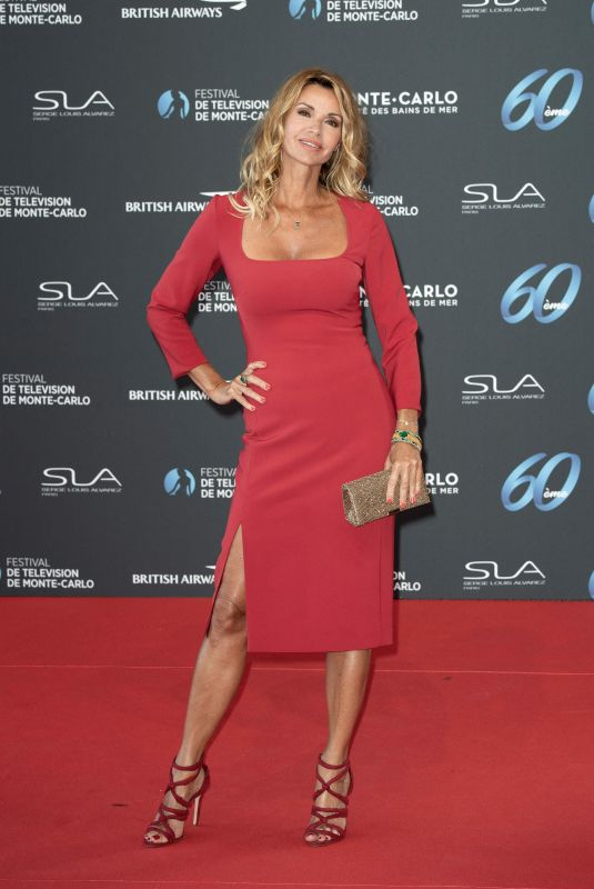 INGRID CHAUVIN at 60th Monte Carlo Film Festival Opening Ceremony in Monaco 06/18/2021