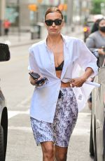 IRINA SHAYK Out and About in New York 06/15/2021