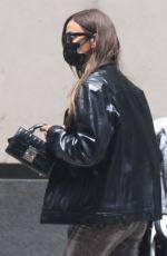 IRINA SHAYK Out in New York 06/01/2021
