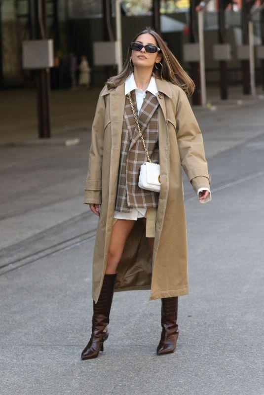 JADE TUNCDORUK at Afterpay Australian Fashion Week Street Style in Sydney 06/01/2021