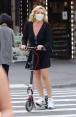 JANE KRAKOWSKI at a Scooter Ride in New York 06/05/2021