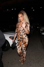 JASMINE SANDERS at UOMA Beauty by Sharon C. Event in Hollywood 06/18/2021
