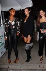 JASMINE TOOKES, SARA SAMPAIO and JOSEPHINE SKRIVER at The Ivy in Los Angeles 06/04/2021