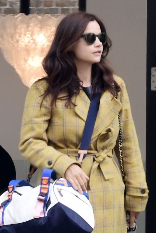 JENNA LOUISE COLEMAN Out Shopping in London 05/28/2021