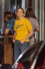 JENNIFER LAWRENCE and Brian Tyree Henry Out Smoking at Maple Leaf Bar in New Orleans 06/11/2021