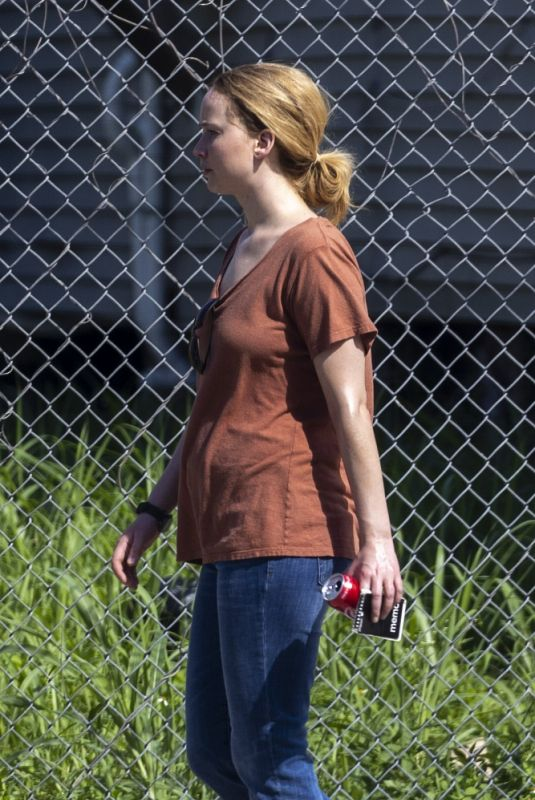 JENNIFER LAWRENCE on the Set of Red, White and Water in New Orleans 06/01/2021