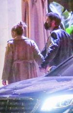 JENNIFER LOPEZ and Ben Affleck on a Dinner Date in Hollywood 05/31/2021