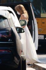 JENNIFER LOPEZ Leaves Windward School in Los Angeles 06/03/2021