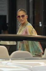 JENNIFER LOPEZ Out for Dinner Date in Los Angeles 06/02/2021