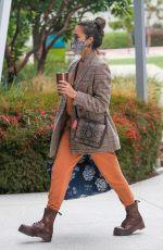 JESSICA ALBA Arrives at Her Company in Santa Monica 06/01/2021
