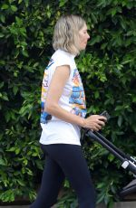 JESSICA HART Out with Her Baby in Los Angeles 06/15/2021