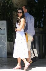 JORDANA BREWSTER and Mason Morfit at Bel Air Hotel in Los Angeles 06/27/2021