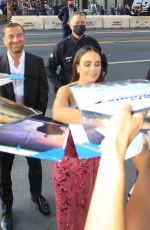 JORDANA BREWSTER Signs Autographs for Fans at F9 Premiere in Hollywood 06/18/2021