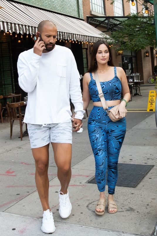 KACEY MUSGRAVES and Cole Shafer Out and About in New York 06/20/2021