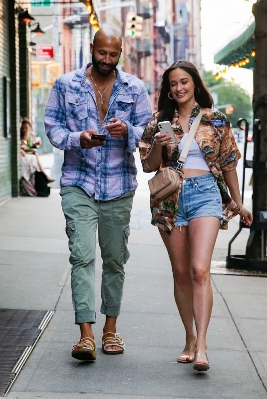 KACEY MUSGRAVES and Cole Shafer Out in New York 06/18/2021