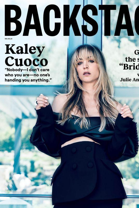 KALEY CUOCO in Backstage Magazine, June 2021