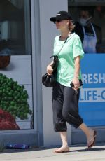 KALEY CUOCO Leaves Yoga Class in Los Angeles 06/27/2021