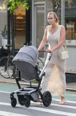 KARLIE KLOSS Out with Her Baby in New York 06/09/2021