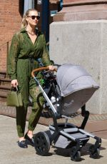 KARLIE KLOSS Out with Her Baby in New York 06/10/2021