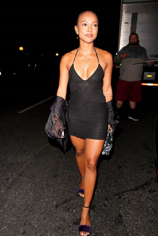 KARRUECHE TRAN at Bobby Wagner Birthday Party in Los Angeles 06/28/2021
