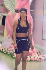 KARRUECHE TRAN at Pretty Little Thing Showroom at a Fashion Event in Miami Beach 05/25/2021