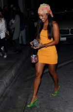 KARRUECHE TRAN Night Out in West Hollywood 06/09/2021