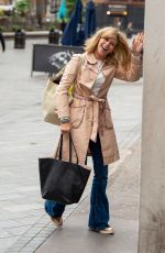 KATE GARRAWAY Arrives at Her Smooth Radio Show in London 06/22/2021