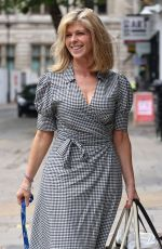 KATE GARRAWAY Arrives at Smooth FM in London 06/11/2021