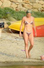 KATE HUDSON in Bikini at a Beach in Greece 06/14/2021