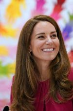 KATE MIDDLETON at Connor Downs Academy in Hayle 06/11/2021