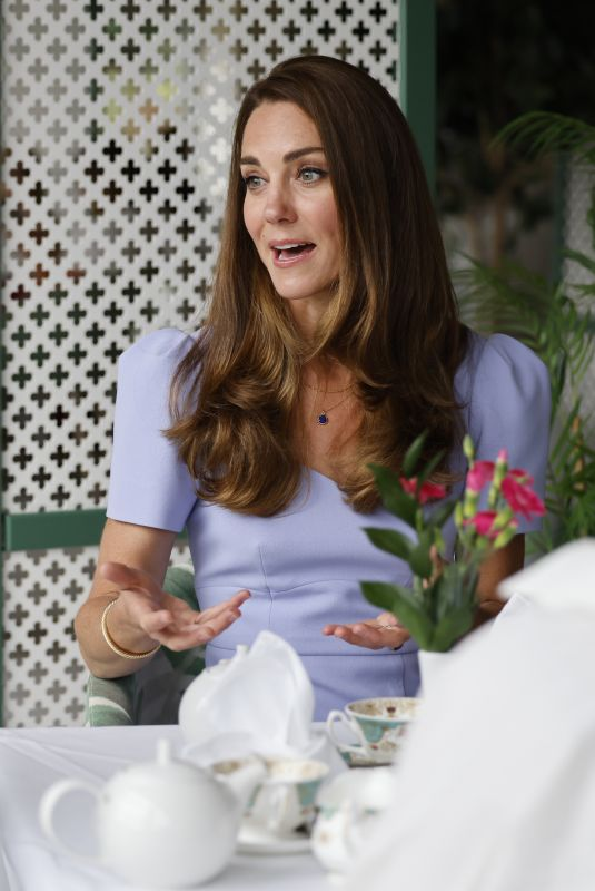 KATE MIDDLETON at Royal Foundation Centre for Early Childhood Launch in London 06/18/2021