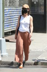 KATIE HOLEMS Out in New York 06/21/2021