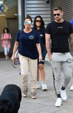 KATIE PRICE and Carl Woods at Stephs Packed Lunch 06/09/2021