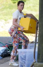 KATIE PRICE Starting to Move Belongings Back to Her Mansion in Sussex 06/13/2021